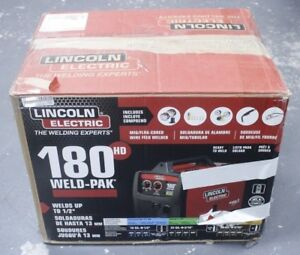 ma2 Lincoln Electric Weld pak 180 Hd Mig Flux core Welder Local Pickup Only