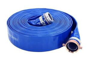 Abbott Rubber Pvc Discharge Hose Assembly Blue 2 Male X Female Npsm 65 Psi