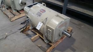 100 Hp Dc General Electric Motor 1750 Rpm 409at Frame Dpfv 500 V