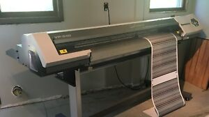 Roland Versacamm Vp 540 Large Format Sign Printer Laminator Bundle