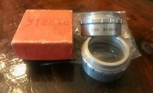 Bausch Lomb 0 5x Microscope Objective Lens