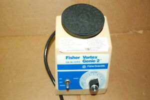 Fisher Genie 2 Vortexer Vortex Shaker Mixer Used Lab Rotator Mini Touch Vied