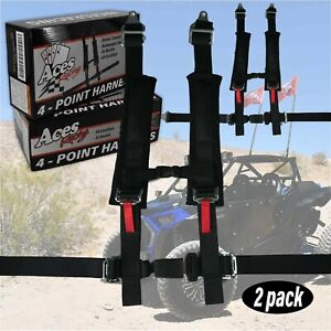 2013 Polaris Rzr 900 800 4 Point Harness Pair fast Shipping