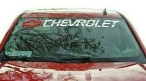 Chevy S10 Tailgate Sticker Chevrolet Silverado Bed Decals Ready For Install