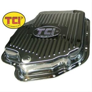 Tci Auto Automatic Transmission Pan Stock Steel Zinc Finish Gm Th400 Each 228011