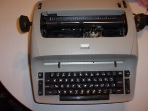 Tan Ibm Selectric I Electric Typewriter Plus Black Ibm Selectric parts