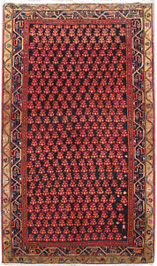 Wool Hand Knotted 4 X 8 Rug Persian Hardy And Durable Rug