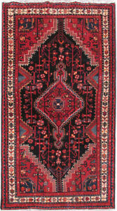 3 X 6 Persian Rug Low Price Rugs Hand Knotted Pre Owned Hamadan Rug