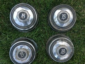 1933 Buick Artillery Wheel Hub Caps Set Of 4 Free Shipping