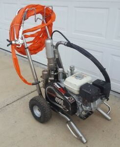 Titan speeflo Powrtwin 4900 Xlt Convertible Hydraulic Airless Paint Sprayer gas