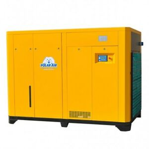 125 Hp 3 Phase Rotary Screw Compressor By Eaton No China Parts 10 Yr Warranty