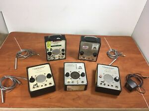 Lot Of 5 Parks 811 811 b 915al 811 bts Ultrasonic Doppler Flow Detector Probe
