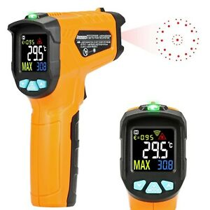 Best Infrared Thermometer Heat Gun Laser Temperature Digital Handheld Monitor