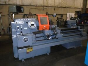 Lodge Shipley Avs 2013 Engine Lathe 21 Swing X 54 Dro video