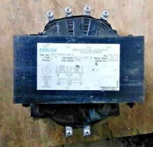 Dongan 50 1500 053 Transformer Primary Volts 240 480 Secondary 120 Vac