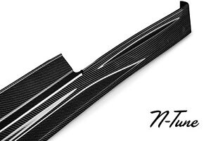 Genuine N Tune Carbon Fiber Side Skirts Rocker 09 15 Nissan R35 Gt R Nismo Style