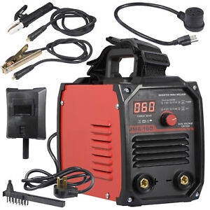 Mini Igbt Arc Welding Machine Mma Electric Welder 110v 220v 20 160a Dc Inverter