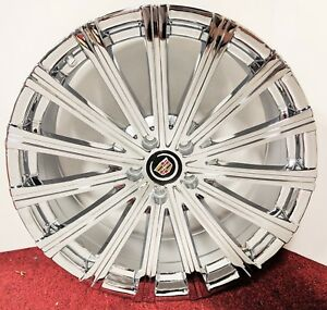 Clean Factory Style Cadillac Chrome 20 X 8 5 Wheels Fit Most Cadillac
