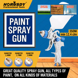 Hvlp Gravity Feed Spray Gun Air Regulator Auto Paint Primer Prime Car Sprayer