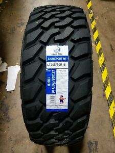 Lt305 70r16 Leao Tire Lionsport M t 10ply 124 121q Rwl set Of 4