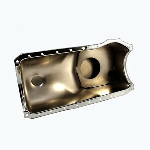 Front Sump Chrome Oil Pan Stock Capacity Cleveland 1970 1982 Ford 351c M 400