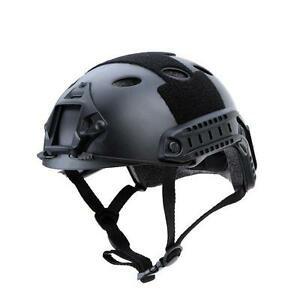 Outdoor Military Tactical Airsoft Paintball SWAT Protective Fast Helmet Comfort