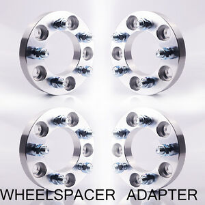4 Wheel Spacers Adapters 5x5 To 5x4 5 1 Inch 12x1 5 Studs 5x127 To 5x114 3