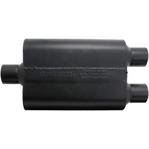 Flowmaster 9425472 Super 44 Muffler 2 50 Center In 2 50 Dual Outlets