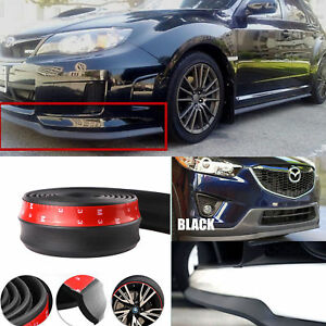 Car Front Bumper Lip Splitter Chin Spoiler Skirt Rubber Protector New Arrival
