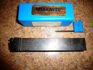 Valenite Indexable Tool Holder 1 Shank With Wrench