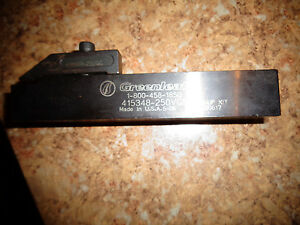 Greenleaf Indexable Parting Grooving Tool Holder