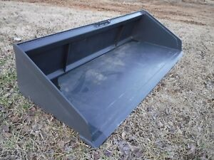 Bobcat Skid Steer Attachment 78 Low Profile Smooth Bucket Shipping Cost 199