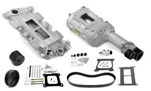 Weiand 7740 1 Supercharger System Roots 144 Series Satin Chevy Small Block Kit