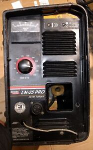Lincoln Electric Ln25 Pro Extra Torque Wire Feeder K2613 7 With Mig Gun