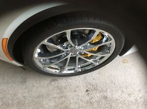 Corvette Cup Centennial Chrome Wheels 18 19