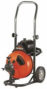 General Wire 214231 Mini rooter Xp Drain sewer Cleaning Machine W 75 X 1 2 c