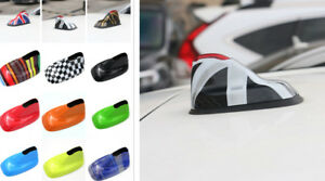 For Mini Cooper F54 F60 Shark Fin Style Roof Top Mount Antenna Tape Decoration