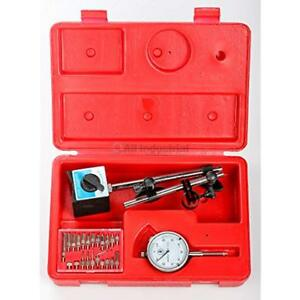 Dial Indicator Jig Accessories Kit With Magnetic Base 22 Pc pointer For Table