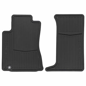 Oem New Front All Weather Rubber Floor Mats W Cts Logo 08 14 Cadillac 22784766