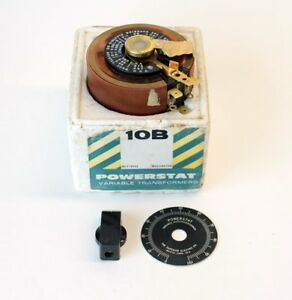 The Superior Electric Co Powerstat Variable Transformer 10b New Old Stock