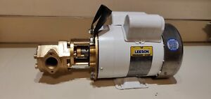 24 Gpm 3 4 Hp Leeson Wvo Wmo Gear Transfer Pump Waste Oil Svo Bio Usa