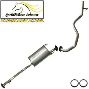 Stainless Steel Exhaust System Kit Fits 1996 2000 Toyota 4runner 3 4l