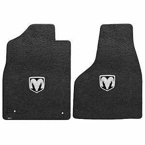 2013 Ram 1500 Extended Quad Cab Dark Slate Ultimat Floor Mats Horns Logo