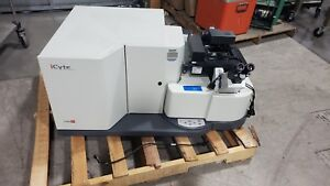 Icys Icyte Compucyte Laser Scanning Research Cytometer W Olympus Ix51 Microscope