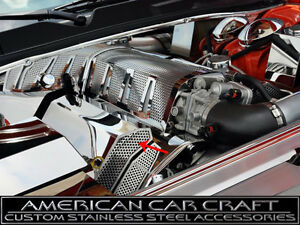 2008 2012 Dodge Srt 8 Perforated Fuel Rail Covers Requires Stock Intake Pair