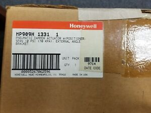 New Old Stock Honeywell Mp909h 1331 Pneumatic Damper Actuator W Positioner