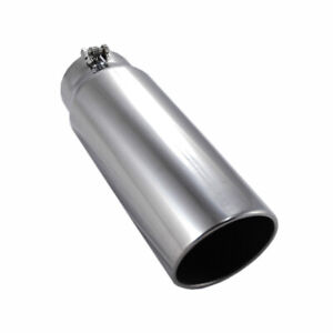 Pypes Diesel Polished Stainless Exhaust Tip For Dodge 18 Long 5 In 6 Out