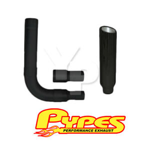 Dodge 5 9l 2500 3500 Diesel 8 Stainless Pypes Black Slant Stack Exhaust Kit