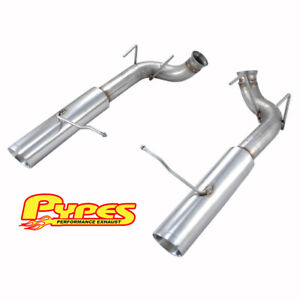 2011 2014 Ford Mustang Gt 3 0 Pypes Stainless Axle Back Muffler Delete Exhaust