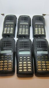 6 X Motorola Mtx9250 900mhz Aah25wch4gb6an Police Fire Ems Two Way Radio